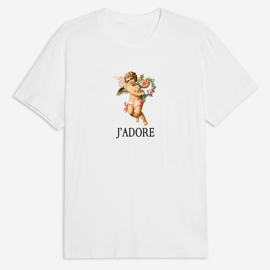 J'adore Tee in White