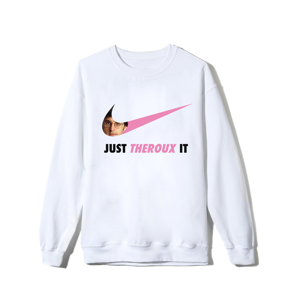 Theroux It Sweatshirt - White