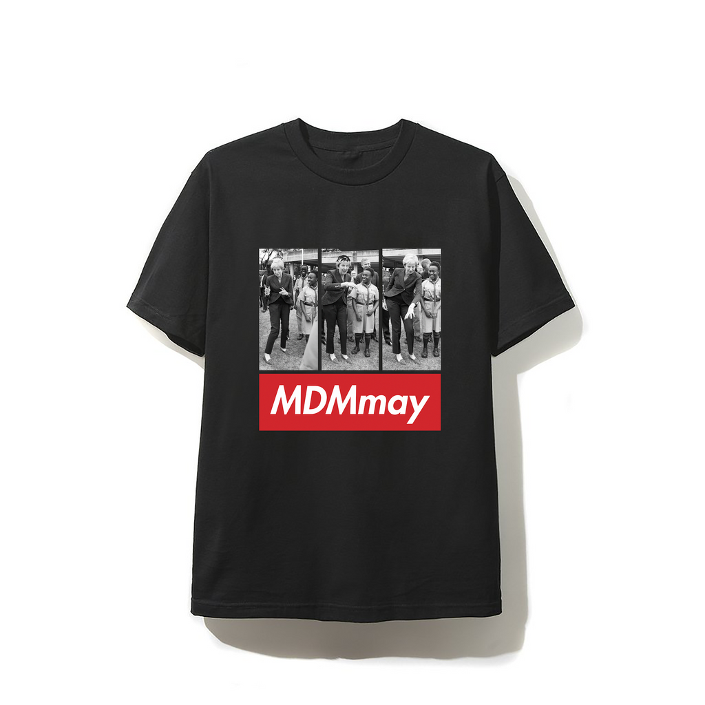 """MDMay"" T-shirt - Black"