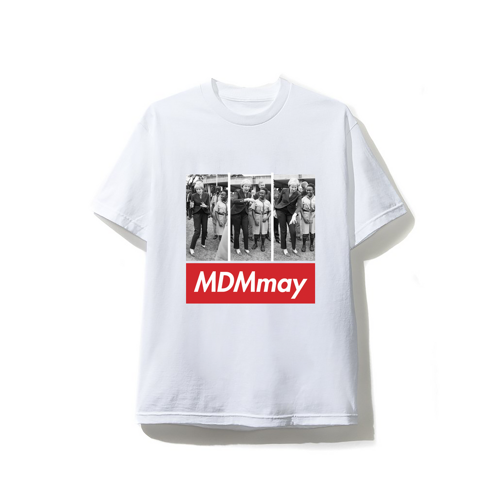 """MDMay"" T-shirt - White"
