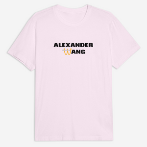 Mc Wang Tee in White or Pink