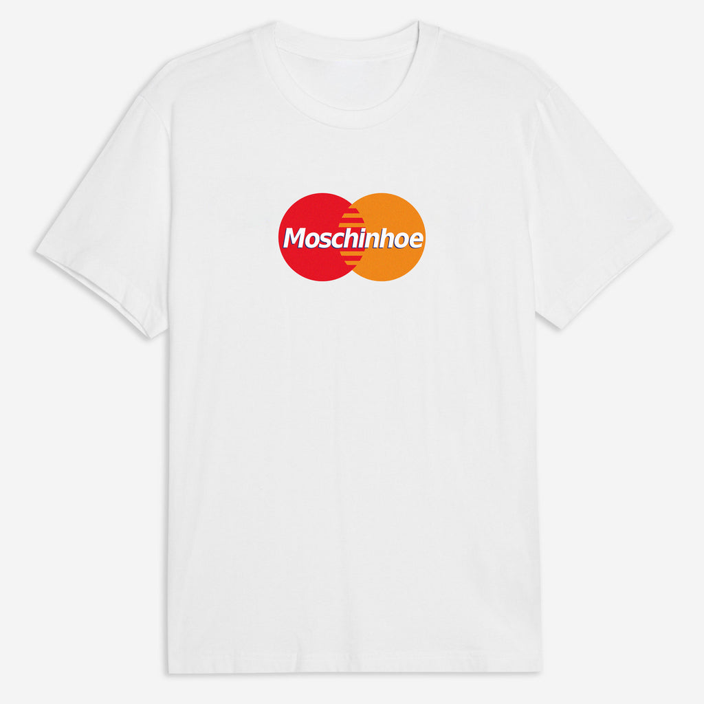 Moschinhoe Card Tee in White
