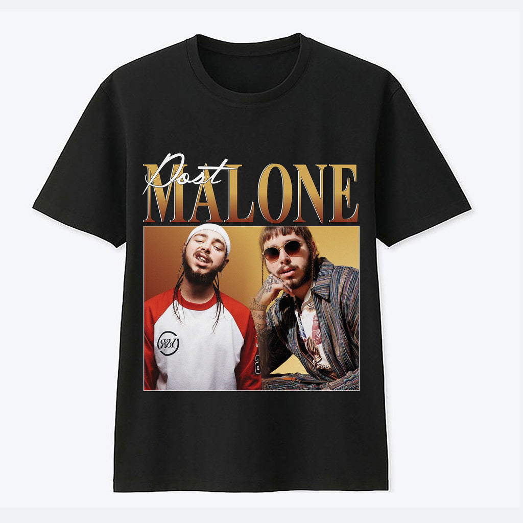 Post Malone Tee - Black
