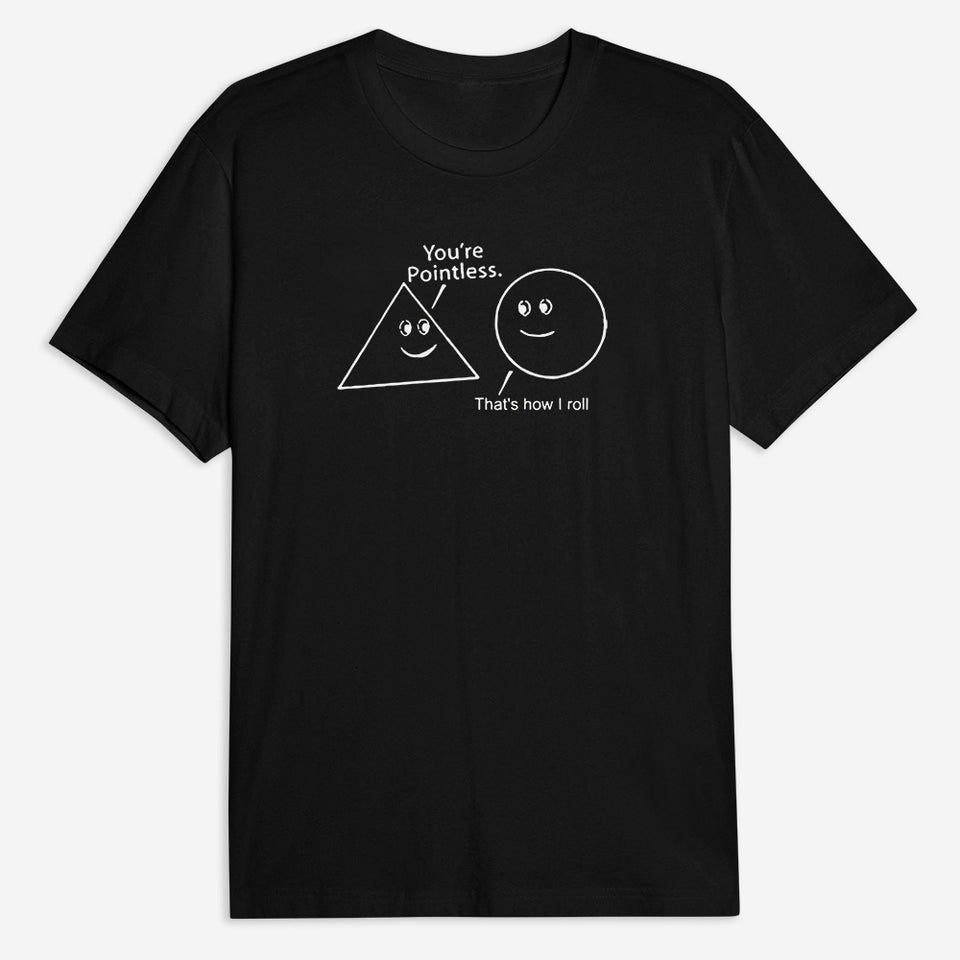 Pointless Tee - Black