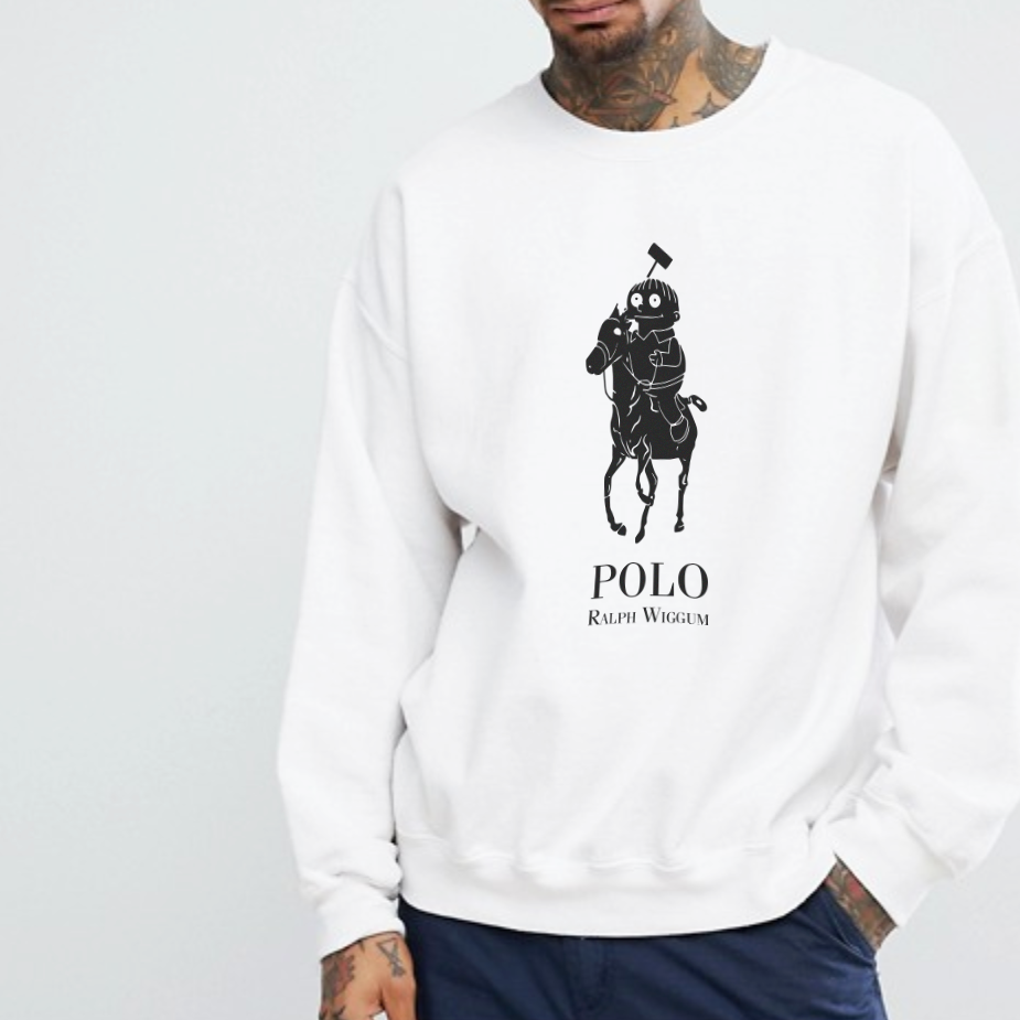 Ralph Sweatshirt - White