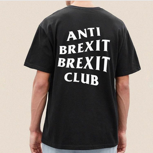 """Anti Brexit Brexit Club"" T-Shirt - Black"