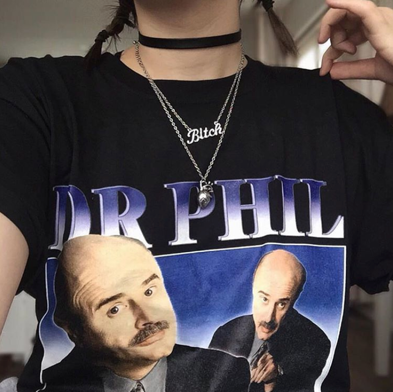 Dr Phil Tee - Black