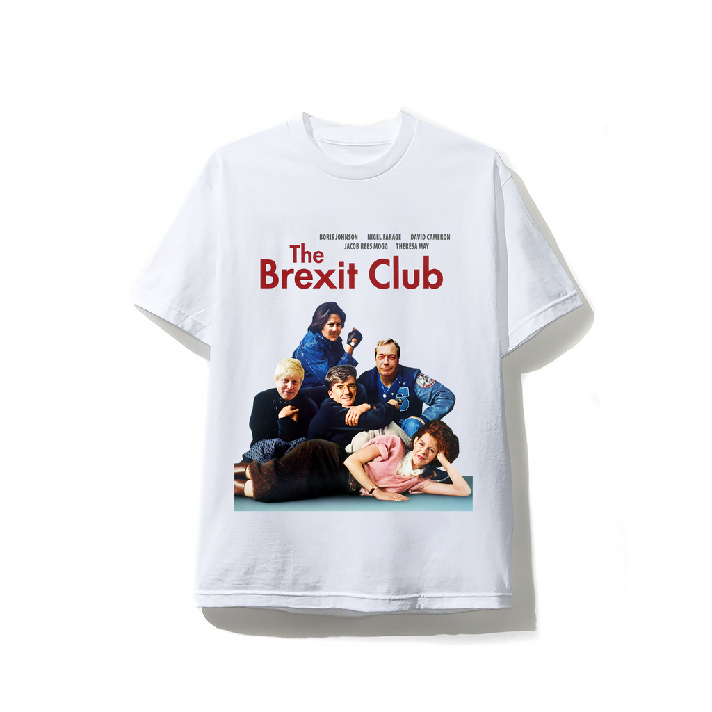 Brexit Club White Softstyle T-shirt