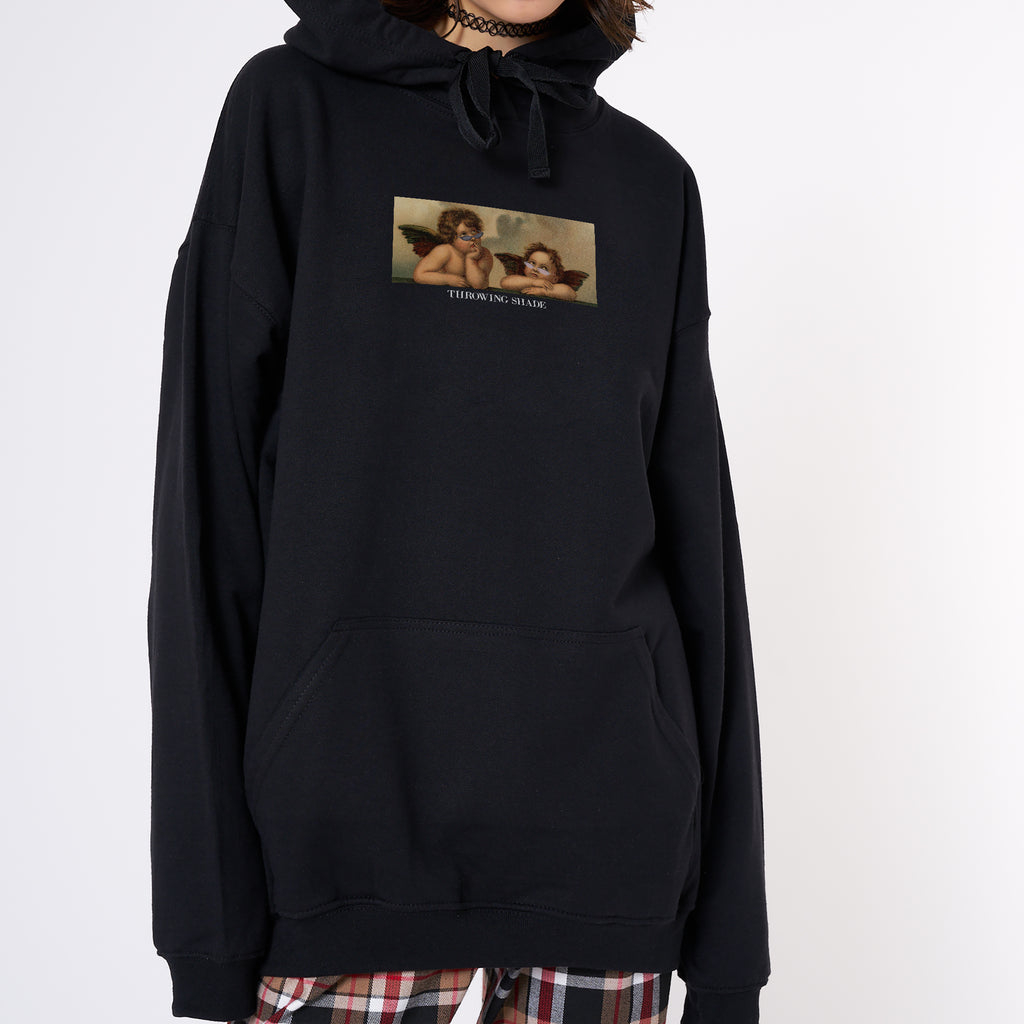 Throwing Shade Hoodie - Black