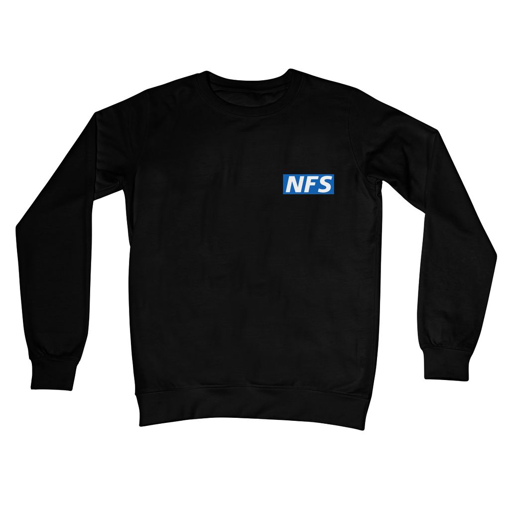 NFS White Crew Neck Sweatshirt