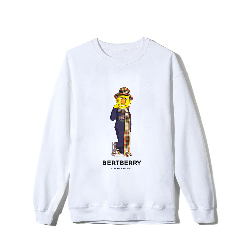 Bertberry Sweatshirt - White