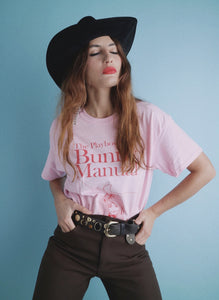 Bunny Manual Tee in Light Pink