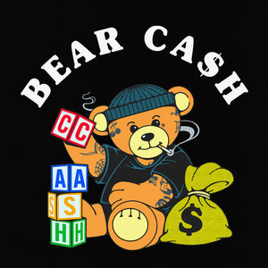BEAR CASH - BLACK