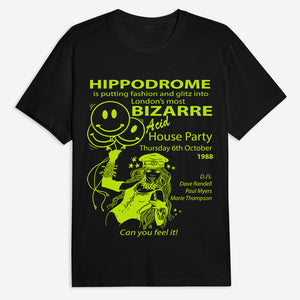 Hippodrome Tee - Black or Light Purple