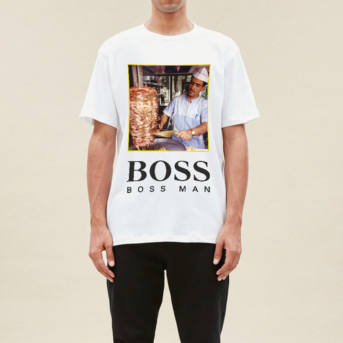 Boss Man T-shirt - White