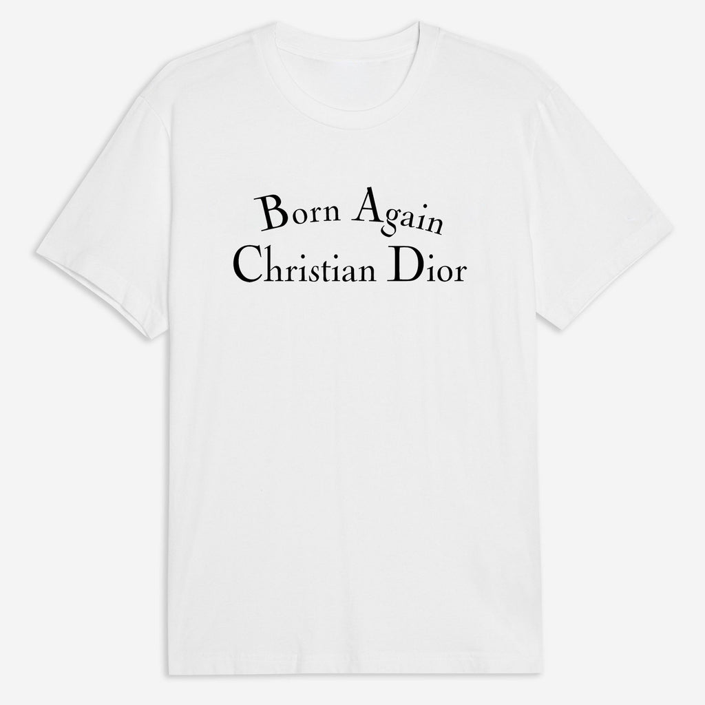 Born Again Christian Tee - White
