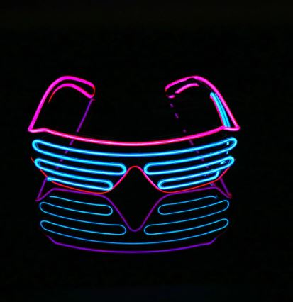 2019 Light Up Glasses for Halloween, Parties, Raves and more!