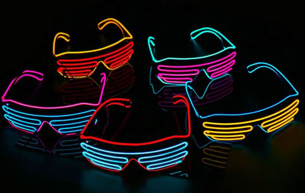 2019 LED Rave Sunglasses