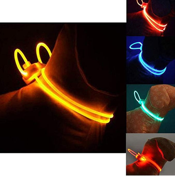 LED Luminous Pet Collar https://www.veesup.com/products/2019-new-led-pet-collar-luminous-adjustable-pet-safety-collars-water-resistant-flashing-light This LED pet collar pendant emits a bright ambient glow, which is visible for more than half a mile! It keeps you and your pet safe when walking in the dark. A perfect gear for pre-dawn or outdoor at night. Great for all seasons!