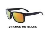 Oculos Mirrored UV400 Sunglasses for Men & Woman with Shatterproof Nylon Frame