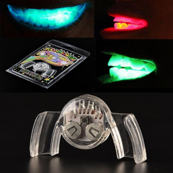 2019 LED Flashing Mouthpieces for Halloween, Parties, Raves and more! (2 Pieces)