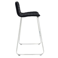 RIPPLE BAR STOOL IN BLACK