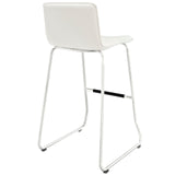RIPPLE BAR STOOL IN WHITE