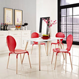CINO RECTANGLE DINING TABLE IN WHITE