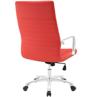 ESTHER HIGHBACK OFFICE CHAIR IN RED