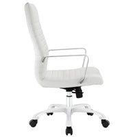 ESTHER HIGHBACK OFFICE CHAIR IN WHITE