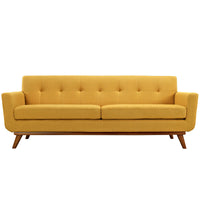 MALIX UPHOLSTERED FABRIC SOFA IN CITRUS