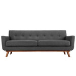 MALIX UPHOLSTERED FABRIC SOFA IN GRAY