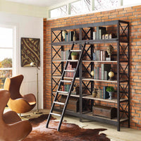 KRAMER WOOD BOOKSHELF IN BROWN