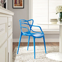 MEDLEY DINING ARMCHAIR IN BLUE