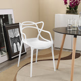 MEDLEY DINING ARMCHAIR IN WHITE