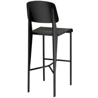MIO BAR STOOL IN BLACK