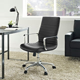 ESTHER MID BACK OFFICE CHAIR IN BLACK
