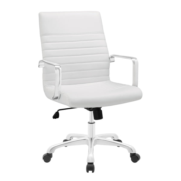 ESTHER MID BACK OFFICE CHAIR IN WHITE