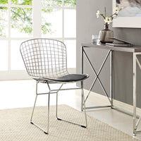 NESTER DINING SIDE CHAIR IN BLACK