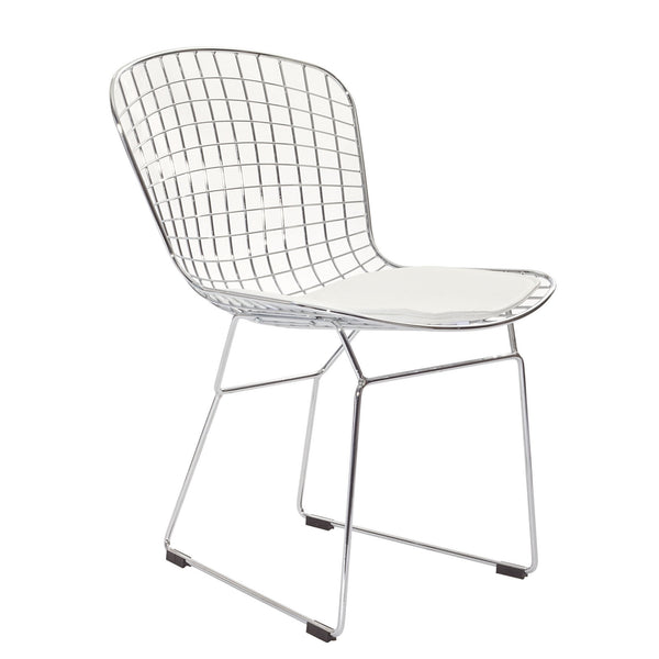 NESTER DINING SIDE CHAIR IN WHITE