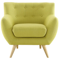 COLBY UPHOLSTERED FABRIC ARMCHAIR IN WHEATGRASS
