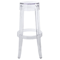 TRANSIT BAR STOOL IN CLEAR