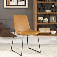 HARVEST DINING SIDE CHAIR IN TAN