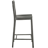 JACOB COUNTER STOOL IN SILVER