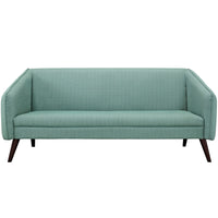 OSCAR UPHOLSTERED FABRIC SOFA IN LAGUNA