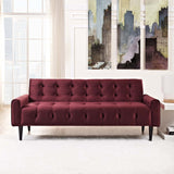 MACHINA VELVET SOFA IN MAROON