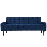MACHINA VELVET SOFA IN NAVY