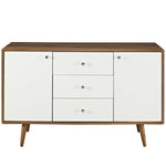 MODESTO SIDEBOARD IN WALNUT WHITE