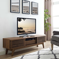 "BRODY 59"" TV STAND IN WALNUT"