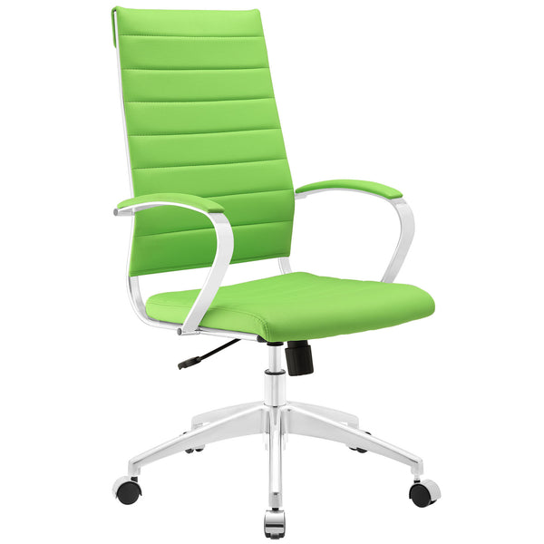VALLIX HIGHBACK OFFICE CHAIR IN BRIGHT GREEN